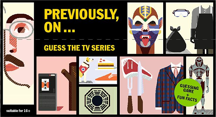 Previously, On...: Guess the TV Series Cover Image