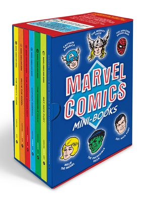 Marvel Comics Mini-Books Collectible Boxed Set: A History and Facsimiles of Marvel's Smallest Comic Books Cover Image