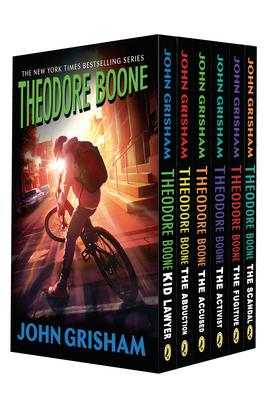 Theodore Boone 6-Book Box Set Cover Image