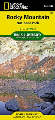 Rocky Mountain National Park (National Geographic Maps: Trails Illustrated #200) Cover Image