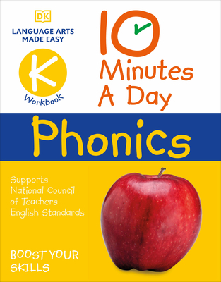 10 Minutes A Day Phonics Kindergarten Cover Image