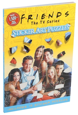 Friends Sticker Art Puzzles Cover Image