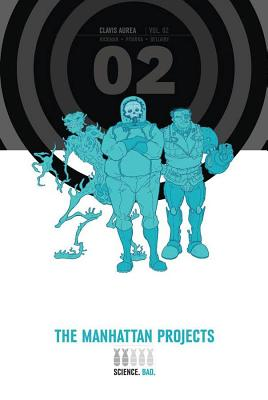 Manhattan Projects Deluxe Edition Book 2 cover image