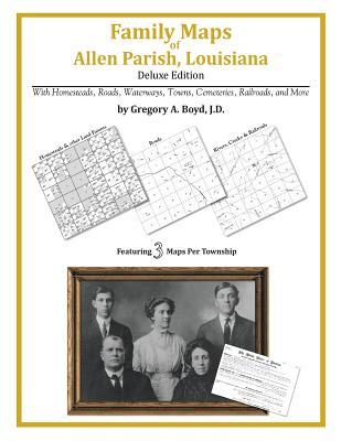 Family Maps of Allen Parish, Louisiana Cover Image
