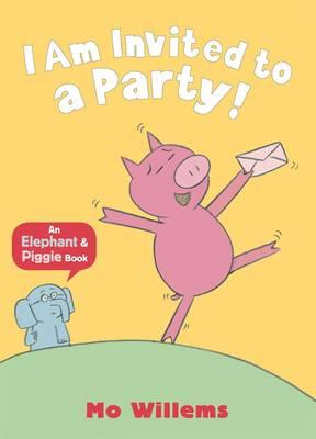 Cover for I Am Invited to a Party!
