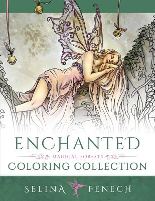 Enchanted - Magical Forests Coloring Collection Cover Image