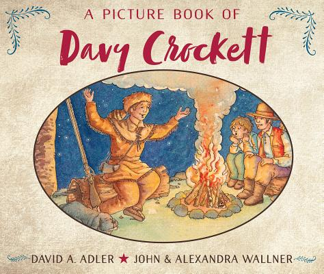 Cover for A Picture Book of Davy Crockett (Picture Book Biography)