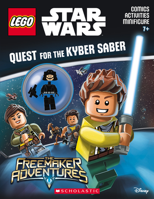 Quest for the Kyber Saber (LEGO Star Wars: Activity Book with Minifigure) Cover Image