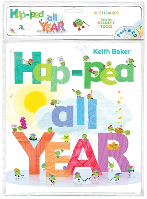 Hap-Pea All Year: Book & CD (The Peas Series) Cover Image