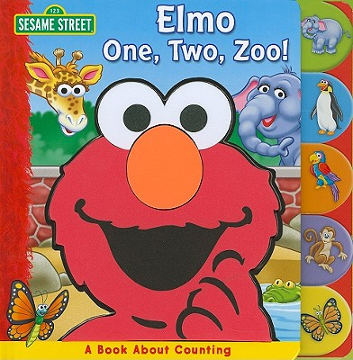 Elmo One, Two, Zoo! Cover