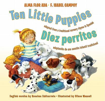 Ten Little Puppies/Diez Perritos Cover