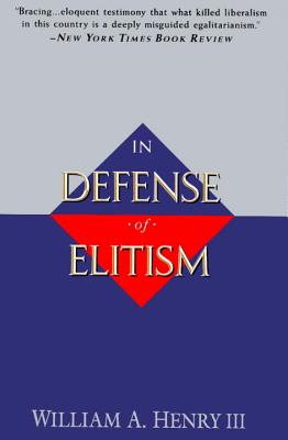 In Defense of Elitism Cover