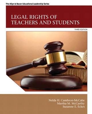 Legal Rights of Teachers and Students (New 2013 Ed Leadership Titles) Cover Image