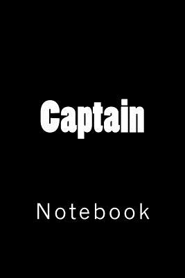 Captain: Notebook Cover Image