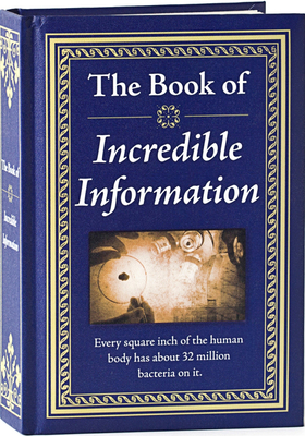 The Book of Incredible Information Cover Image