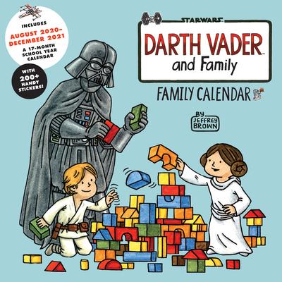 Darth Vader & Family 2021 Family Calendar Cover Image