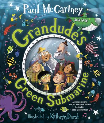 Grandude's Green Submarine Cover Image