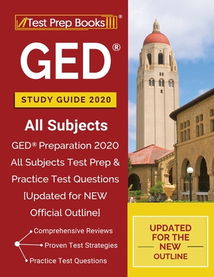 GED Study Guide 2020 All Subjects: GED Preparation 2020 All Subjects Test Prep & Practice Test Questions [Updated for NEW Official Outline] Cover Image