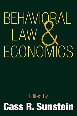 Behavioral Law and Economics Cover Image
