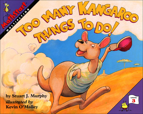 Too Many Kangaroo Things to Do! (Mathstart: Level 3 (Prebound)) Cover Image