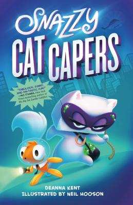 Snazzy Cat Capers Cover Image