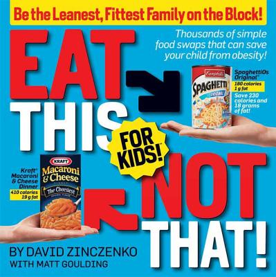 Eat This Not That! for Kids! Cover