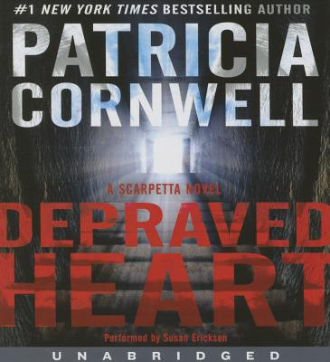 Kay Scarpetta: Depraved Heart No. 23 by Patricia Cornwell (2015, Hardcover)