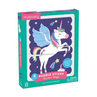 Unicorn Magic Puzzle Sticks Cover Image