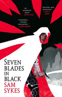 Seven Blades in Black (The Grave of Empires #1) Cover Image