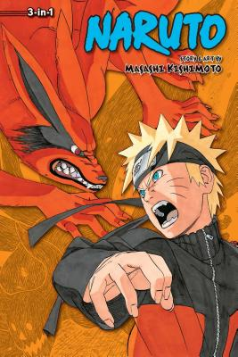 Naruto (3-in-1 Edition), Vol. 17 cover image