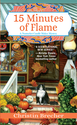 15 Minutes of Flame (Nantucket Candle Maker Mystery #3) Cover Image