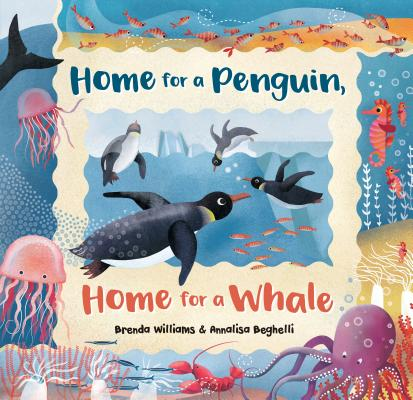 Cover for Home for a Penguin, Home for a Whale