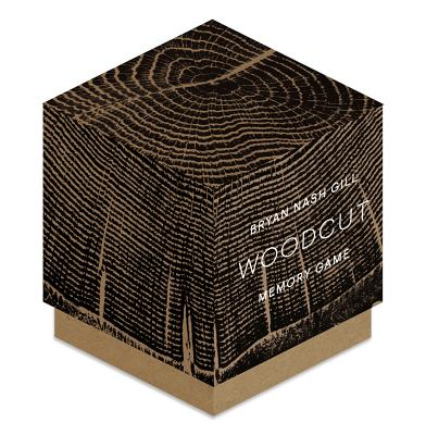 Woodcut Memory Game (Fun challenging memory game for families and friends, 52 pairs of matching cards, keepsake box) Cover Image