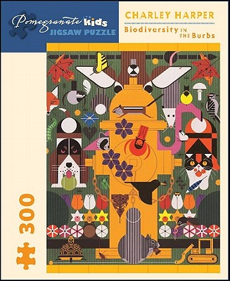 Puzzle-Charley Harper Biodiver (Pomegranate Kids Jigsaw Puzzle) Cover Image