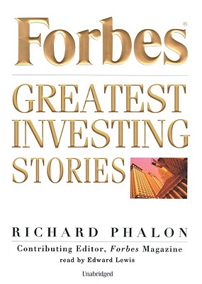 Forbes Greatest Investing Stories Lib/E Cover Image
