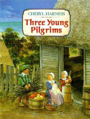 Three Young Pilgrims Cover Image