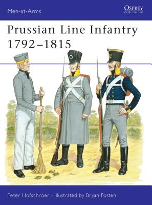 Prussian Line Infantry 1792 1815 Cover