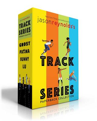 Jason Reynolds's Track Series Paperback Collection: Ghost; Patina; Sunny; Lu Cover Image