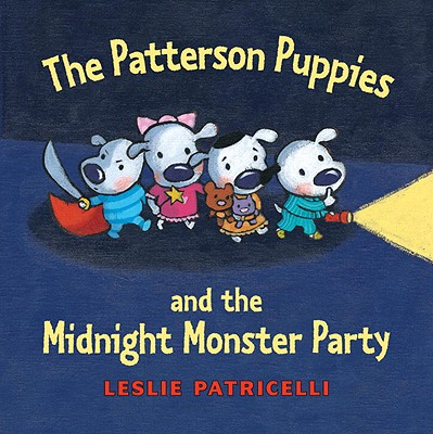 The Patterson Puppies and the Midnight Monster Party Cover