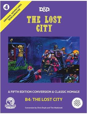 Original Adventures Reincarnated #4 - The Lost City Cover Image