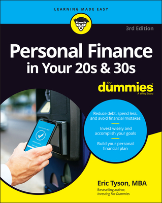 Personal Finance in Your 20s & 30s for Dummies Cover Image