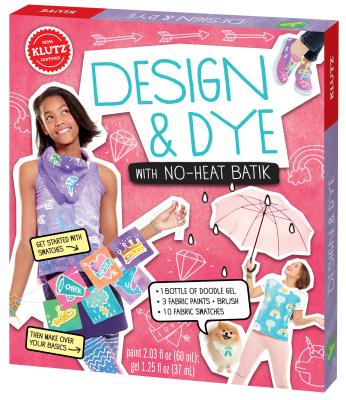 Design & Dye W/No-Heat Batik Cover Image