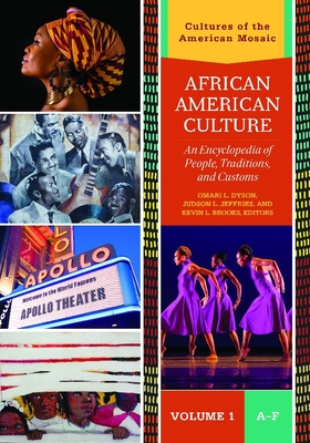 African American Culture [3 Volumes]: An Encyclopedia of People, Traditions, and Customs (Cultures of the American Mosaic) Cover Image