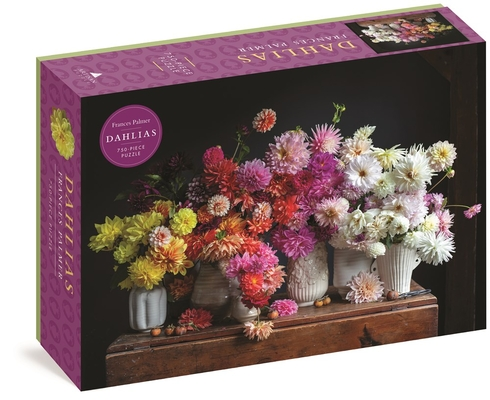 Dahlias 750-Piece Puzzle Cover Image