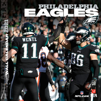 Philadelphia Eagles 2021 12x12 Team Wall Calendar Cover Image