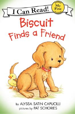 Biscuit Finds a Friend (My First I Can Read) Cover Image