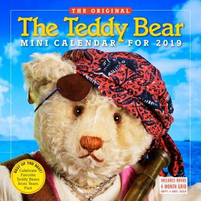 The Teddy Bear Mini Wall Calendar 2019 Cover Image