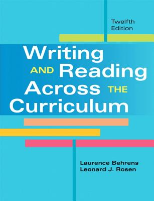 Writing and Reading Across the Curriculum Cover Image