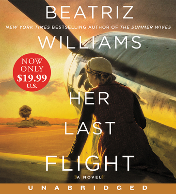 Her Last Flight Low Price CD: A Novel Cover Image