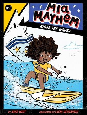 Mia Mayhem Rides the Waves Cover Image